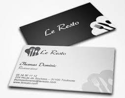 Carte De Visite Standard Recto Verso